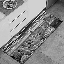 QINCO Anti-Fatigue Kitchen Floor Mat,NYC Over