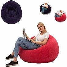 QINGHE Bean Bag Chair, Inflatable Sofa Camping