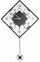 Qingmi Wall Clock-Simple and Easy to Read Arabic