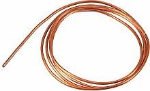 QINGRAN 2M Soft Copper Tube Pipe OD 4mm X ID 3mm,