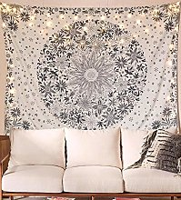 QINGYU Bohemian Paintings Decorated Tapestries