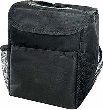QINHU Portable Car Dustbin Garbage Bag Dust Seat