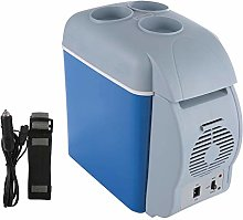 Qinlorgo Mini Fridge,12V 7.5L Mini Home Camping