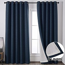 QINUO HOME Double Layer Linen Effect Machine