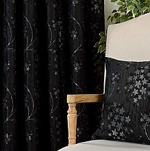 QINUO HOME Double Layers 72 inch Drop Jacquard