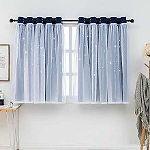 QINUO HOME Eyelet Curtains & Sheer - Kids Blackout