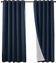 QINUO HOME Faux Linen Home Decorations Fully Lined