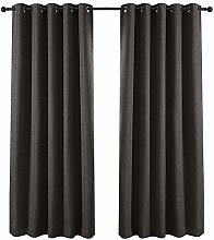 QINUO HOME Room Darkening Curtains Fully Lined