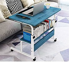 QinWenYan Folding Computer Desk Height-Adjustable