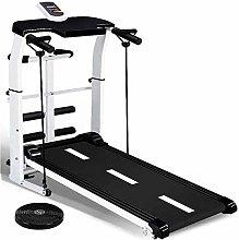 QINYUP Treadmill Mini Indoor Sports Silent Folding