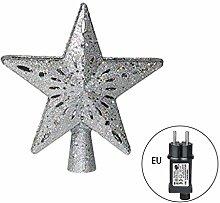 Qirun Pick Star Projector Christmas Tree Topper