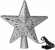 Qirun Rotatable 3D Glitter Star Projector