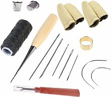 QISF Curved Upholstery Repair Kit Hand Sewing