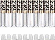 Qiterr 10pcs Lip Gloss Tubes, Refillable Lip Gloss