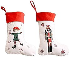 QIXIAOCYB Christmas Stockings 2 Christmas Socks