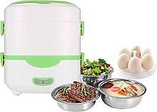 QIXIAOCYB Electric Heating Lunch Box, Mini Rice