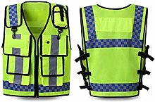 qjbh1 Reflective Safety Vest Work Clothes With