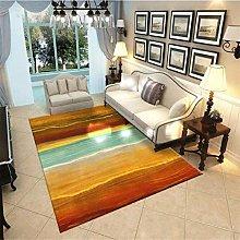 QJWY-Home Living Room Rug Nordic Carpets Vintage