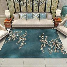 QJWY-Home Vintage Classic Geometric Carpets Modern