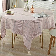 QKEMM Anti Fading Rectangular Table Cover Cotton