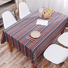 QKEMM Quality Rectangular Fabric Tablecloth