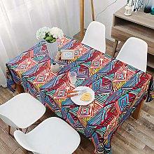 QKEMM Shop Rectangle Tablecloth Fabric Cotton