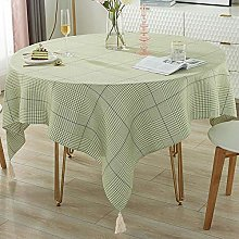 QKEMM Stain Dust Proof Decorative Table Cloths