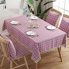 QKEMM Table Cloth Rectangular Folding Table Cover