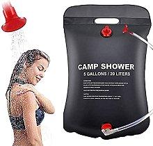 QKFON Camping Shower Bag Outdoor Portable Bathing