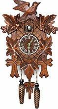 QKFON German Black Forest Cuckoo Clock Retro