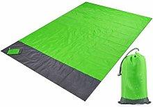 QKFON Outdoor Beach Blanket, Lightweight Sand Free