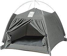QKFON Pet Tent Detachable Cat Dog Teepee House