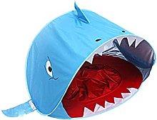 QKFON Pop Up Baby Beach Tent UPF 50+ Shark Tent