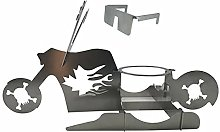 QKFON Portable Chicken Grill Stand, Beer American