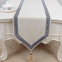 QL Table Runner Faux Velvet Table Runner Luxury