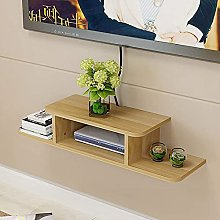 QLIGHA Wall-Mounted Floating Shelves TV