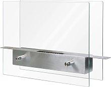 Qlima Ethanol Burner 35x12x28 cm FFB 106 - Silver
