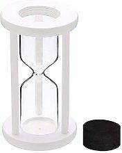 Qlldwxu Empty Hourglass Sand Clock Timer, Wooden