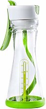 QLPXY Salad Dressing Bottles,Plastic Salad