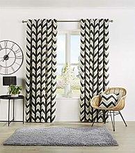 QM-Bedding® Designer Curtain Fully Lined Eyelet
