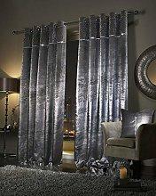 QM-Bedding® PALOMA Diamante Velvet Curtains