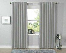 QM-Bedding® Thermal Blackout Curtain Pair Ring