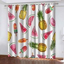QMGLBG Blackout Curtains Super Soft Cool summer