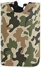 QMIN Laundry Basket Camo Camouflage Print