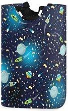 QMIN Laundry Basket Space Universe Star Planet
