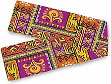QMIN Table Runners African Vintage Geometric