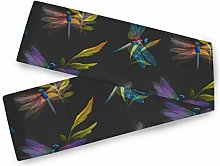 QMIN Table Runners Animal Dragonfly Pattern, Table