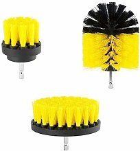 QMMB 3PCS Car Cleaning Brush, Electric Washing