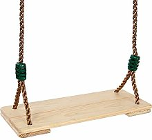 QMMCK Adults Children Swing Chair Wooden Toy Swing