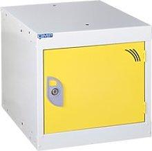 QMP Cube Lockers, 38wx38dx38h (cm), Yellow